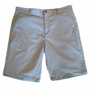 Calvin Klein Flat Front Golf Shorts Grey 33 Waist